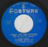 "45Re✦ NATHANIEL MAYER ✦ ""I Want Love And Affection / From Now On"" Raw R&B. Hear♫"